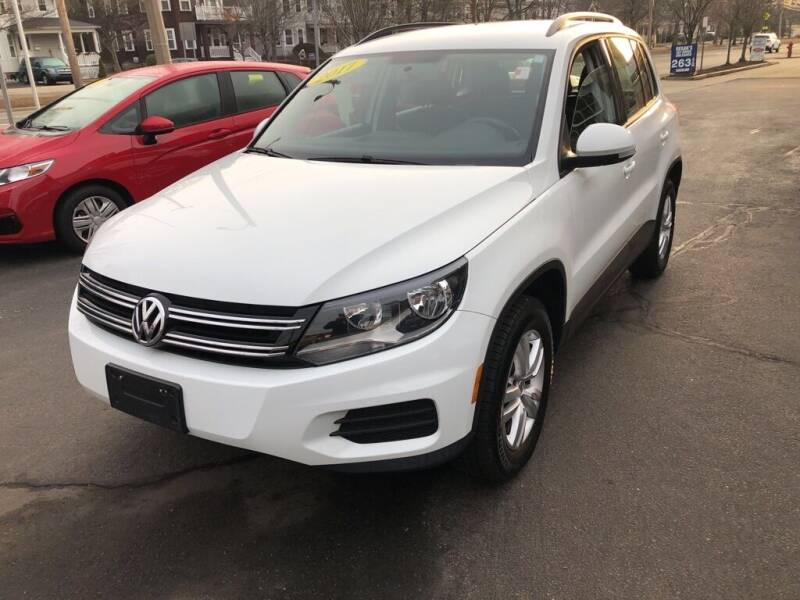 2017 Volkswagen Tiguan for sale at Regans Automotive Inc in Auburndale MA