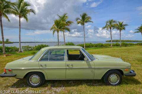 1975 Mercedes-Benz 240-Class for sale at Top Classic Cars LLC in Fort Myers FL