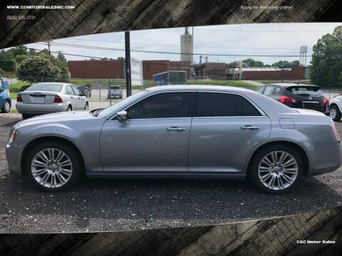 2011 Chrysler 300 for sale at C&C Motor Sales LLC in Hudson NC