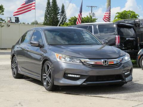 2016 Honda Accord for sale at DK Auto Sales in Hollywood FL