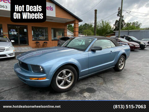 2005 Ford Mustang for sale at Hot Deals On Wheels in Tampa FL