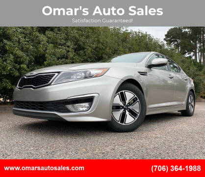 2013 Kia Optima Hybrid for sale at Omar's Auto Sales in Martinez GA