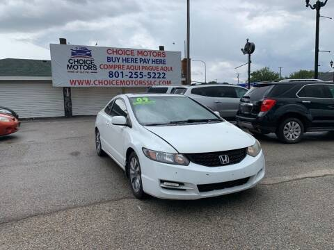 2009 Honda Civic for sale at Choice Motors of Salt Lake City in West Valley  City UT