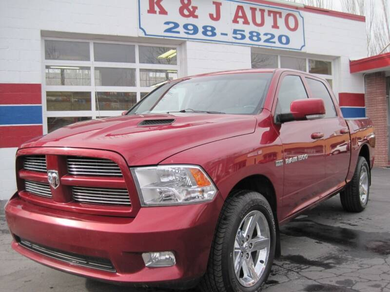 2011 RAM Ram Pickup 1500 for sale at K & J Auto Rent 2 Own in Bountiful UT