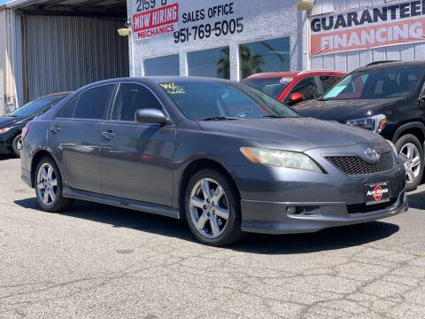 2007 Toyota Camry for sale at Auto Source in Banning CA