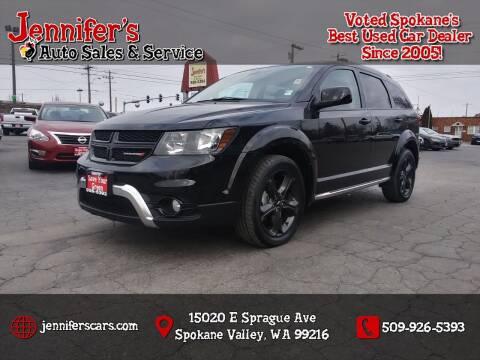 2018 Dodge Journey for sale at Jennifer's Auto Sales in Spokane Valley WA