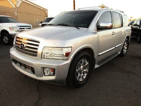 2004 Infiniti QX56 for sale at More Info Skyline Auto Sales in Phoenix AZ