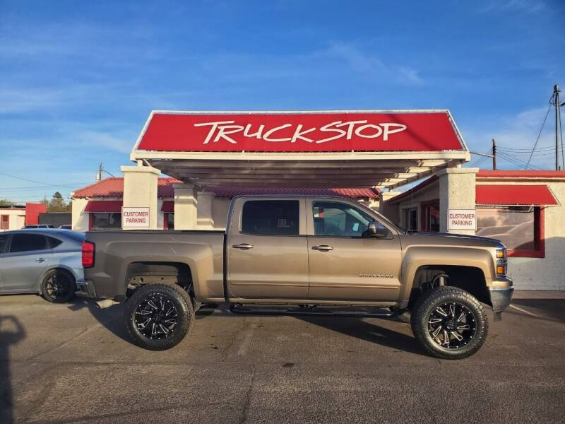 2015 Chevrolet Silverado 1500 for sale at TRUCK STOP INC in Tucson AZ