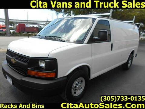 2013 Chevrolet Express Cargo for sale at Cita Auto Sales in Medley FL