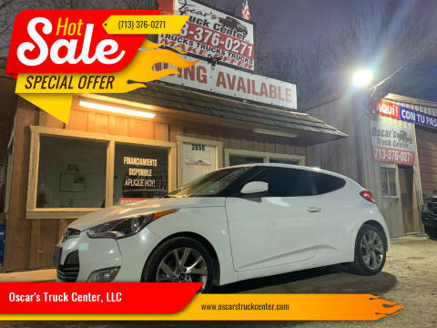 2017 Hyundai Veloster for sale at Oscar's Truck Center, LLC in Houston TX