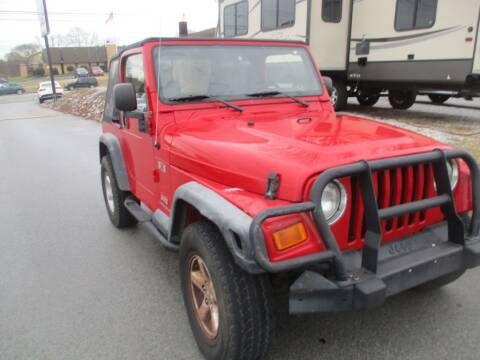 2004 Jeep Wrangler for sale at Z Motors in Chattanooga TN