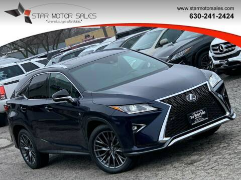 2016 Lexus RX 350 for sale at Star Motor Sales in Downers Grove IL