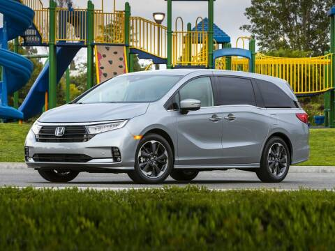 2021 Honda Odyssey for sale at BASNEY HONDA in Mishawaka IN