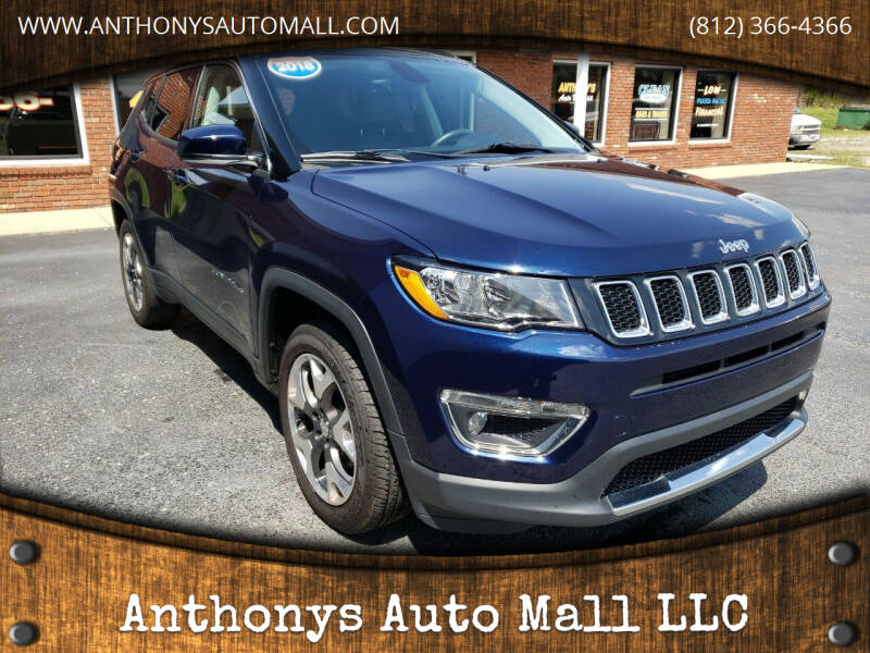 2018 Jeep Compass for sale at Anthonys Auto Mall LLC in New Salisbury IN