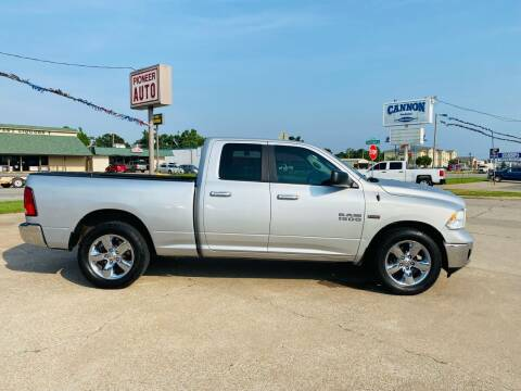 2015 RAM Ram Pickup 1500 for sale at Pioneer Auto in Ponca OK