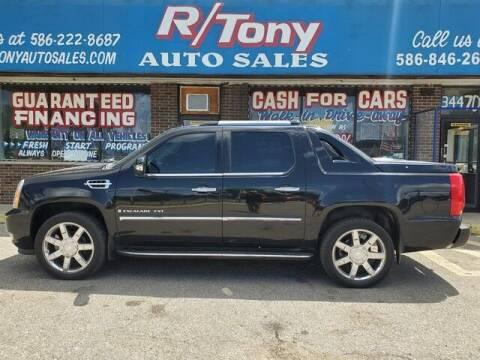 2008 Cadillac Escalade EXT for sale at R Tony Auto Sales in Clinton Township MI