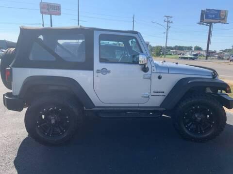 2012 Jeep Wrangler for sale at Auto Credit Xpress - Jonesboro in Jonesboro AR