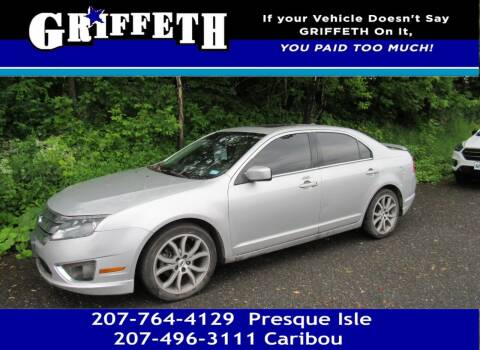 2012 Ford Fusion for sale at Griffeth Mitsubishi - Pre-owned in Caribou ME