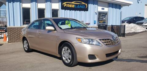 2011 Toyota Camry for sale at Freeland LLC in Waukesha WI