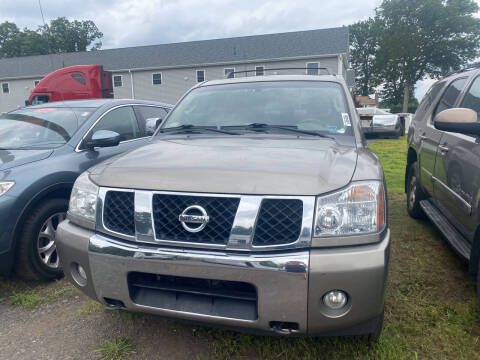2006 Nissan Armada for sale at Whiting Motors in Plainville CT
