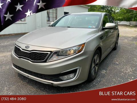 2011 Kia Optima Hybrid for sale at Blue Star Cars in Jamesburg NJ