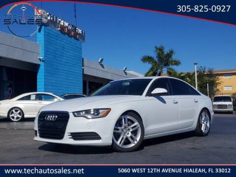 2015 Audi A6 for sale at Tech Auto Sales in Hialeah FL