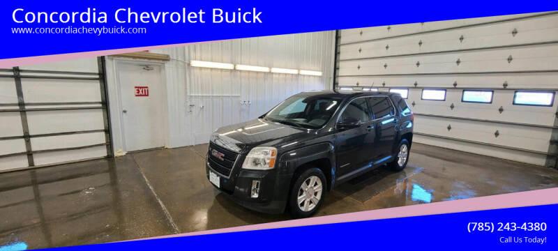 2013 GMC Terrain for sale at Concordia Chevrolet Buick in Concordia KS