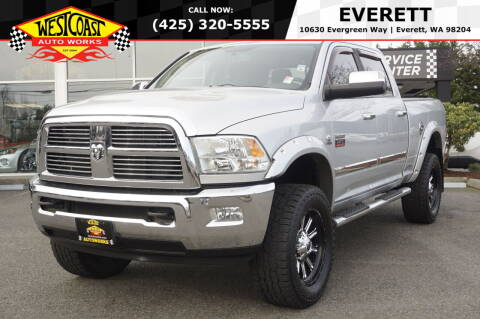 2011 RAM Ram Pickup 2500 for sale at West Coast Auto Works in Edmonds WA
