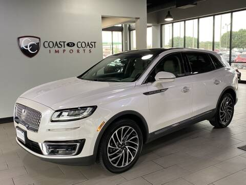 2019 Lincoln Nautilus for sale at Coast to Coast Imports in Fishers IN