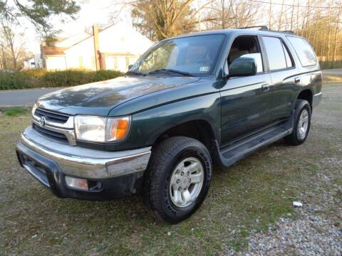 2002 Toyota 4Runner for sale at Liberty Motors in Chesapeake VA