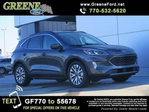 2020 Ford Escape Hybrid for sale at NMI in Atlanta GA