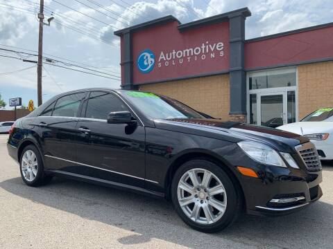 2013 Mercedes-Benz E-Class for sale at Automotive Solutions in Louisville KY