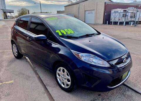 2012 Ford Fiesta for sale at Island Auto Express in Grand Island NE