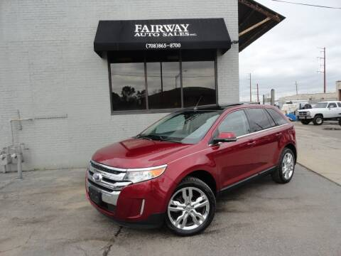 2013 Ford Edge for sale at FAIRWAY AUTO SALES, INC. in Melrose Park IL