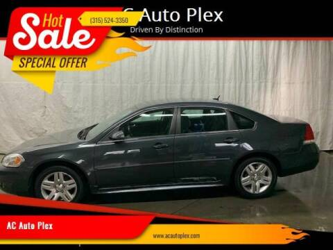2011 Chevrolet Impala for sale at AC Auto Plex in Ontario NY