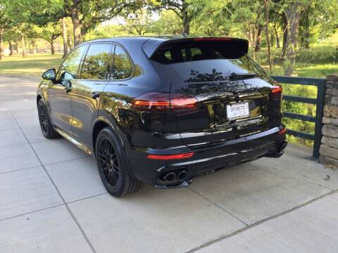 2017 Porsche Cayenne for sale at TEXAS MOTOR WORKS in Arlington TX