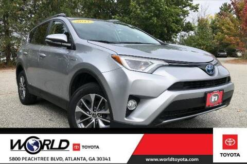 2017 Toyota RAV4 Hybrid for sale at CU Carfinders in Norcross GA