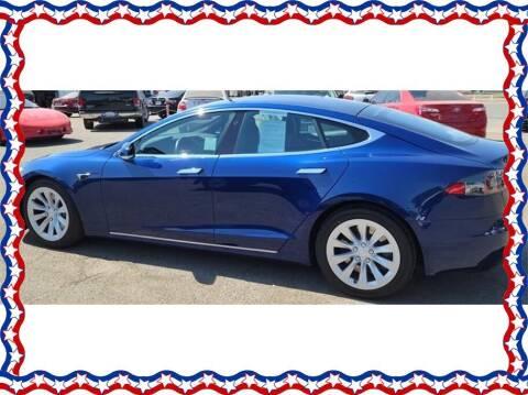 2017 Tesla Model S for sale at American Auto Depot in Modesto CA