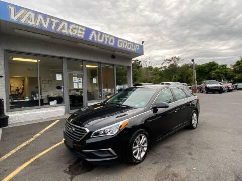 2016 Hyundai Sonata for sale at Vantage Auto Group in Brick NJ