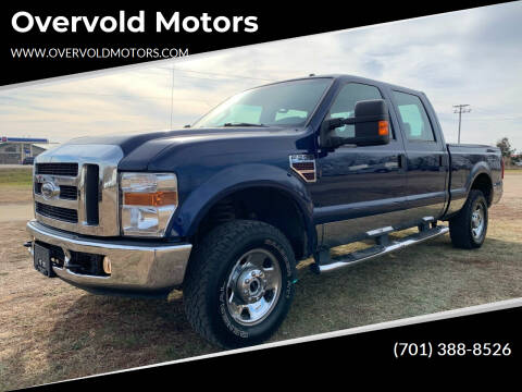 2008 Ford F-250 Super Duty for sale at Overvold Motors in Detriot Lakes MN