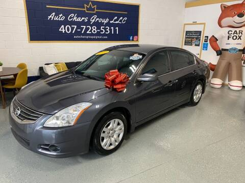 2012 Nissan Altima for sale at Auto Chars Group LLC in Orlando FL