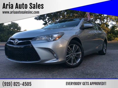 2017 Toyota Camry for sale at ARIA  AUTO  SALES in Raleigh NC