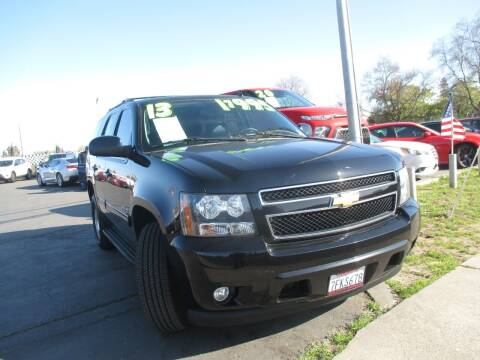 2013 Chevrolet Tahoe for sale at Quick Auto Sales in Modesto CA