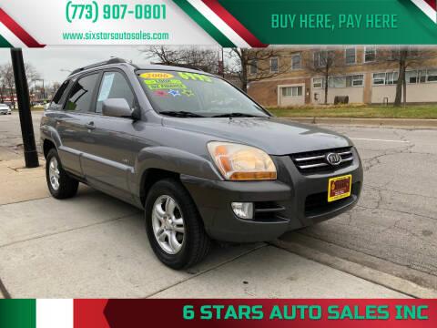 2006 Kia Sportage for sale at 6 STARS AUTO SALES INC in Chicago IL