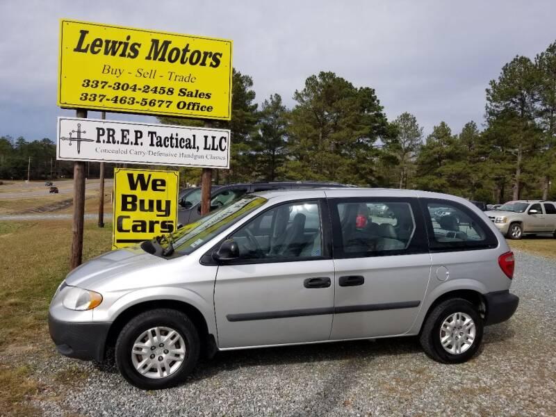 2005 Dodge Caravan for sale at Lewis Motors LLC in Deridder LA