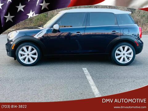 2015 MINI Countryman for sale at DMV Automotive in Falls Church VA