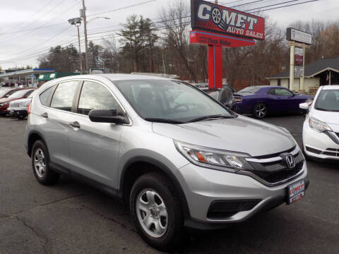 2016 Honda CR-V for sale at Comet Auto Sales in Manchester NH