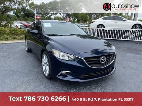 2016 Mazda MAZDA6 for sale at AUTOSHOW SALES & SERVICE in Plantation FL