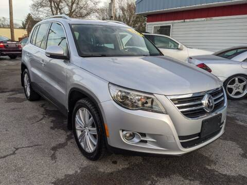 2011 Volkswagen Tiguan for sale at Peter Kay Auto Sales in Alden NY
