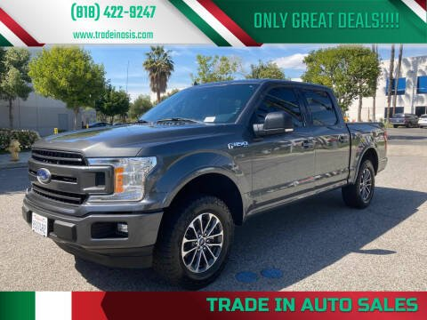 2018 Ford F-150 for sale at Trade In Auto Sales in Van Nuys CA